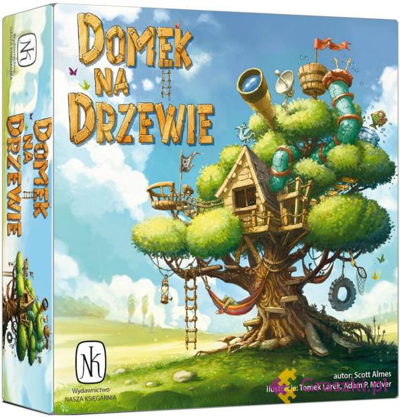 Domek Na Drzewie | Nasza Księgarnia